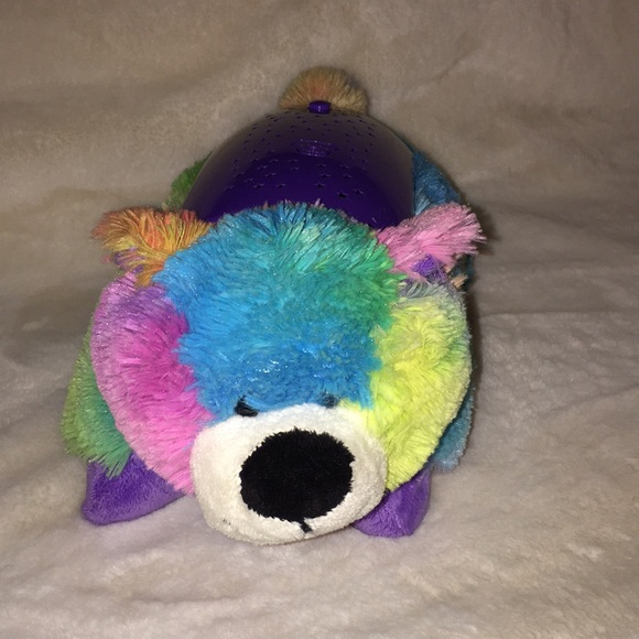 Pillow Pets Other Dream Lites Multicolored Bear Poshmark